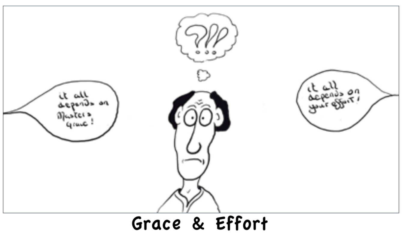 Grace and Effort